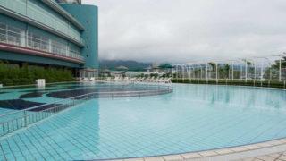 琵琶湖ホテルのプール