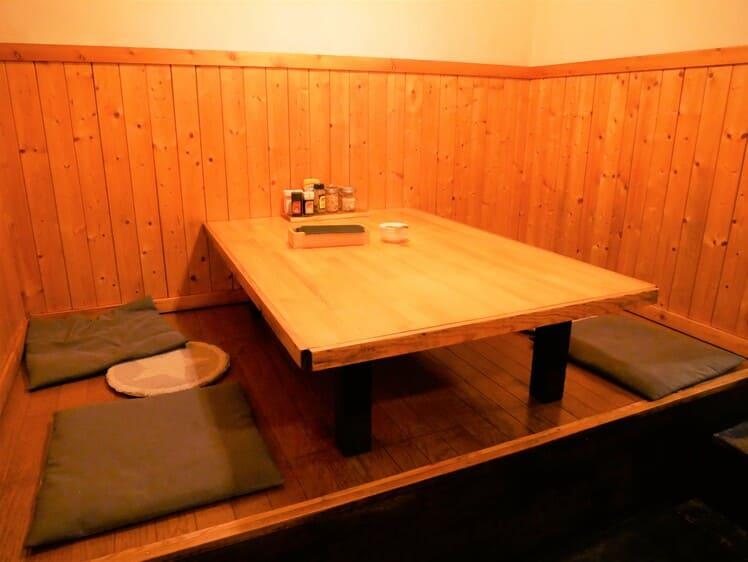 バッファローハンターのお座敷席