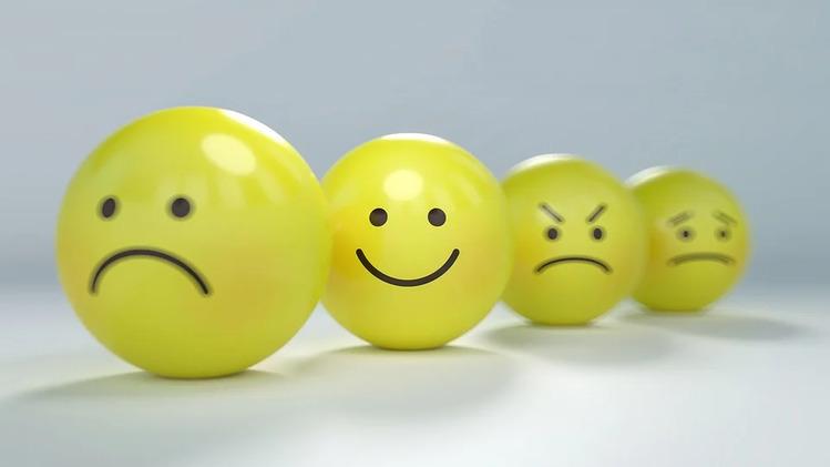 笑顔のボール